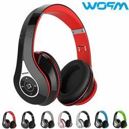 Mpow 059 Wireless Bluetooth Headphones Over Ear Stereo Earph