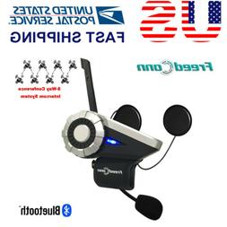 1500m 8 Riders Bluetooth Communication System BT Motorcycle