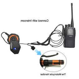 1500m Motorcycle Bluetooth Helmet Headset Interphone Interco