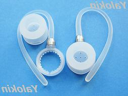 2 White Ear-hooks & 2 Eartips for Motorola Boom 2 and HX600