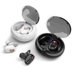 2019 Wireless Bluetooth 5.0 Earphone In Ear Sports with Char