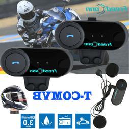 2X Freedconn Bluetooth Intercom Communication BT Motorcycle