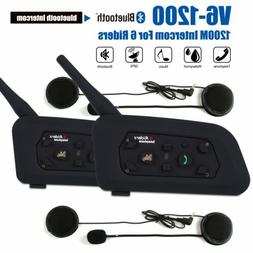 2X Motorcycle 3 0 Bluetooth Walkie Talkie Intercom Two