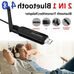 Mini USB Bluetooth Audio Transmitter Wireless Stereo Adapter