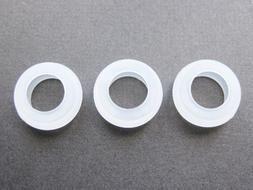 3 Small Eargels for Motorola Elite Sliver HZ750 Wireless Blu