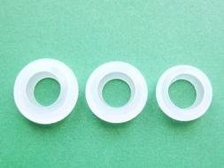 3 S/M/L Eargels for Motorola Elite Sliver HZ750 Wireless Blu