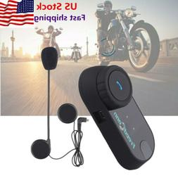 800m FDC BT Motorcycle Bluetooth Intercom Helmet Headset Com