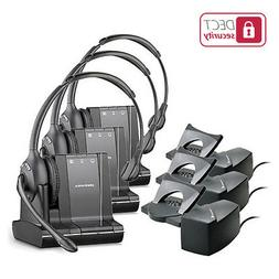 Plantronics 84003-01 Savi W710-M Mono Wireless Headset w/ HL