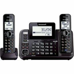 PANASONIC Link2Cell Cordless Phone Bluetooth Enabled with An