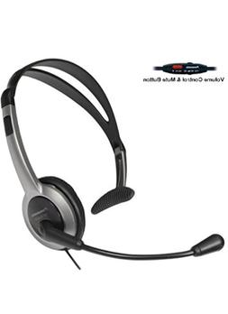 Panasonic Hands-Free Foldable Headset with Volume Control &