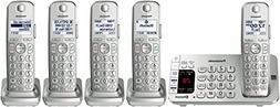 Panasonic - Kx-tge475s Link2cell Dect 6.0 Expandable Cordles
