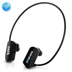 Pyle MP3 Player Bluetooth Headphone - Waterproof Swim IPX8 F