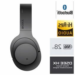 Sony - H900N Hi-Res Noise Cancelling Wireless Headphone Gray