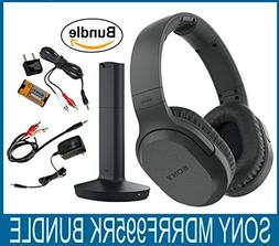 Sony RF995RK Wireless RF Headphones, Zonoz 6FT Stereo Audio