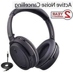 Avantree Active Noise Cancelling Bluetooth 4.1 Headphones Mi