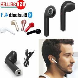For Apple iPhone 7 8 X Wireless BT Earphone in Ear Stereo Ea
