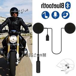 Bluetooth 4.0 Wireless Motorcycle Helmet Headset Speaker Han