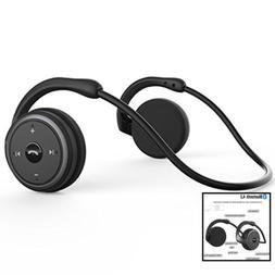 Levin Bluetooth 4.1 Headphones Neckband Wireless Sports Head