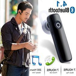 Bluetooth 4.1 Headset Wireless in-ear Stereo Headphones Hand