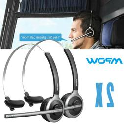 Mpow Bluetooth 4.1 Headsets Truck Driver Headphones Wireless