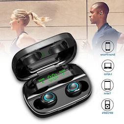 Bluetooth 5.0 Headphones TWS True Wireless Earbuds Stereo HI