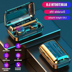 Bluetooth 5.0 Headsets TWS Wireless Headphones Earphones HD