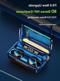 Wireless Bluetooth Ear Buds Deep Bass Earphones In Earbuds B