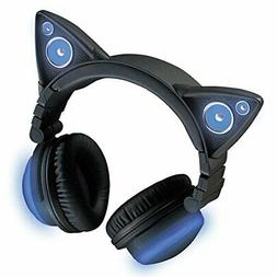 Bluetooth Enabled Device Wireless Cat Ear Headphones Color C