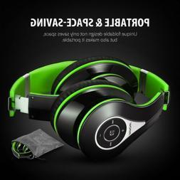 Mpow Bluetooth Foldable Headset Over Ear Wireless Stereo Hea