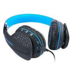 Bluetooth Gaming Headset with mic LED light Wireless Stereo