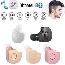 Bluetooth Headphone Wireless Sports Earbud In-Ear Headset fo
