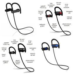 SENSO Bluetooth Headphones Best Wireless Sports Earphones w/