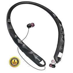 Bluetooth Headphones DolTech Wireless Headphones with Retrac