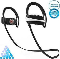 Bluetooth Headphones, IPX7 Wireless Earbuds Audio In-Ear Ear