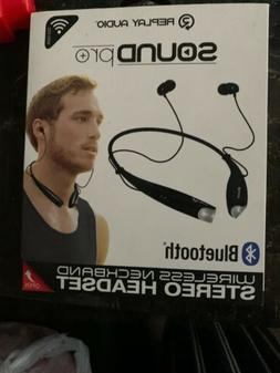 Replay Audio Bluetooth Headphones Neckband Headset Stereo Ea