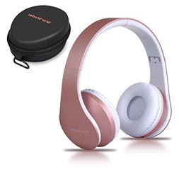 WorWoder Bluetooth Headphones Over Ear, Wireless Foldable Hi