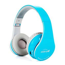 Beyution Bluetooth Headphones Over Ear Wireless Headset Blue