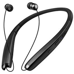 Bluetooth Headphones Retractable Bluetooth Neckband Foldable