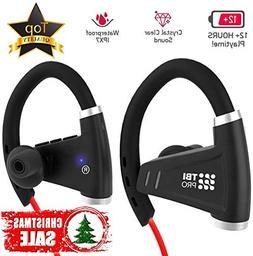 Bluetooth Headphones w/12-14 Hours Battery - Best Wireless