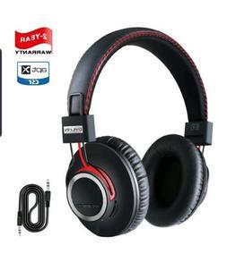 Bluetooth Headphones Wireless Over Ear Headset - High End CS