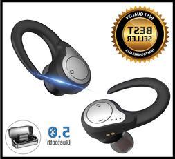 Bluetooth Headset, GRDE Wireless Bluetooth 4.1 Headphones wi