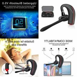 Bluetooth Headset HONSHOOP 5.0 Noise Reduction Earpiece In E