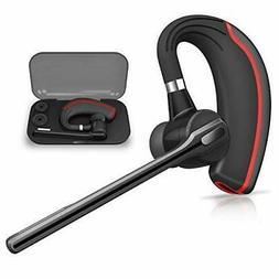 Bluetooth Headset HONSHOOP Bluetooth 5.0 Noise Reduction Blu