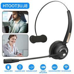 Bluetooth Headset Call Center Meeting Laptop Headphone Boom
