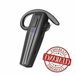 Bluetooth Headset, Handsfree Wireless Earpiece with Mic and