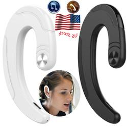 Bluetooth Headset Handsfree Wireless Earpiece With Mic for P
