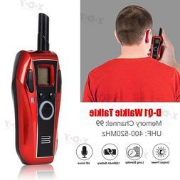 Bluetooth Headset Mini Walkie Talkie UHF 99CH VOX CTCSS DCS