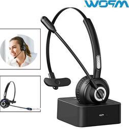 Mpow Bluetooth Headset Noise Canceling Mic Over-Head Headpho