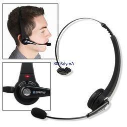 Bluetooth Headset Over-the-Head Bluetooth Headphones For Tru