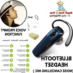 Bluetooth Headset Rechargeable Operation Range Up To 33 Feet